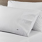 Lacoste Dot Scone Queen Sheet Set in Silver
