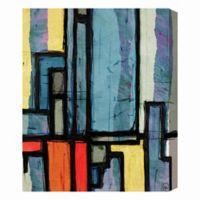 Dawn Town 16-Inch x 20-Inch Canvas Wall Art