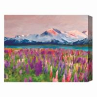 Colorful Wildflower 16-Inch x 20-Inch Canvas Wall Art