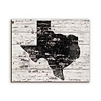 Texas Brick 16-Inch x 20-Inch Wood Wall Art