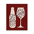 His Beer and Her Wine 16-Inch x 20-Inch Wood Wall Art