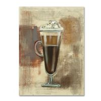 Silvia Vassileva Café Classico I 18-Inch x 24-Inch Canvas Wall Art