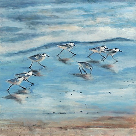 Sandpipers II Canvas Wall Art - Bed Bath & Beyond