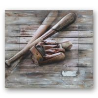 After the Game 32-Inch x 36-Inch Canvas/Wood Wall Art