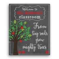 """""""From Tiny Seeds Grow Mighty Trees"""" Canvas Wall Art"""