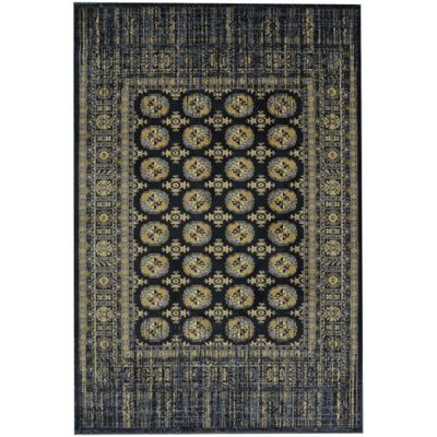 Attractive Merrimack 8 Foot X 11 Foot Area Rug In Blue Slate