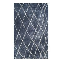 Couristan® Bromley Whistler 7-Foot 10-Inch x 11-Foot 2-Inch Area Rug in Blue/Snow
