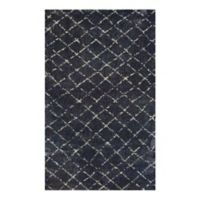 Couristan® Bromley Gio 3-Foot 11-Inch x 5-Foot 6-Inch Area Rug in Navy/Grey