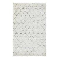 Couristan® Bromley Davos 5-Foot 3-Inch x 7-Foot 6-Inch Shag Area Rug in Snow/Brown