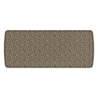GelPro® Elite Decorator New Leaves 30-Inch x 72-Inch Kitchen Mat in Warm Taupe