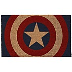 Captain America Shield 17-Inch x 29-Inch Door Mat