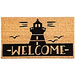 "Lighthouse ""WELCOME"" 16-Inch x 28-Inch Coir Door Mat"