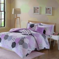 Urban Habitat Kids Trixie Twin/Twin XL Comforter Set in Purple