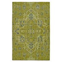 Kaleen Relic Medallion 9-Foot x 12-Foot Area Rug in Avocado