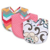 Trend Lab® Waverly Baby Pom Pom Play 3-Pack Pom Pom Play Bib Set