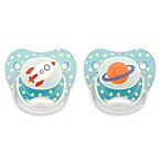Dr. Brown's® PreVent® Age 0-6 Months Stage1 Explore Pacifiers in Blue (Set of 2)
