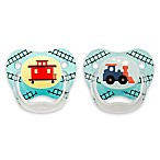 Dr. Brown's® PreVent® Age 6-12 Months Stage 2 Explore Pacifiers in Blue (Set of 2)