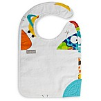 Kushies® Silidrool Bib with Silicone Teether in White