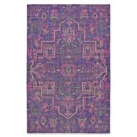 Kaleen Relic Medallion 9-Foot x 12-Foot Area Rug in Purple