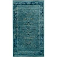 Safavieh Vintage Palace 2' x 3' Accent Rug in Turquoise