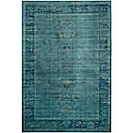 Safavieh Vintage Palace 8-Foot x 11-Foot 2-Inch Area Rug in Turquoise