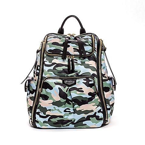Aimee Kestenberg Sylvie Backpack Diaper Bag In Camo