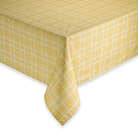 tuscan plaid 60 x 84 oval laminated fabric tablecloth bed bath beyond. Black Bedroom Furniture Sets. Home Design Ideas