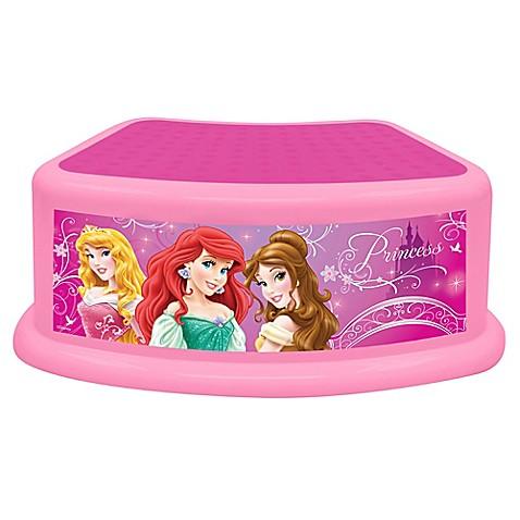 Disney 174 Princess Dare To Dream Step Stool Bed Bath Amp Beyond