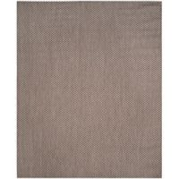 Safavieh Courtyard Check Indoor/Outdoor 8-Foot x 11-Foot Area Rug in Light Brown/Light Grey