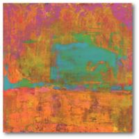Courtside Market Hifi Abstract II 16-Inch Square Canvas Wall Art