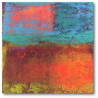 Courtside Market Hifi Abstract III 16-Inch Square Canvas Wall Art