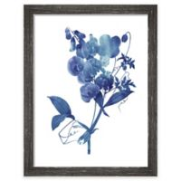 "PTM Images ""Indigo Flora I"" 13.5-Inch x 17.5-Inch Print Wall Art"
