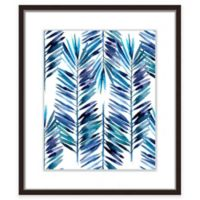 "PTM Images ""Indigo Palms I"" 17.5-Inch x 21.5-Inch Print Wall Art"