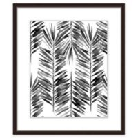 """PTM Images """"The Black Palms I"""" 17.5-Inch x 21.5-Inch Print Wall Art"""