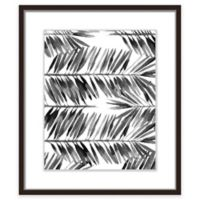 """PTM Images """"The Black Palms II"""" 17.5-Inch x 21.5-Inch Print Wall Art"""