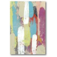 Courtside Market 12-Inch x 18-Inch Swatch Layers I Canvas Wall Art
