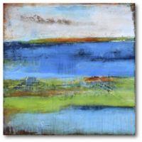 Courtside Market 16-Inch Square Blue Ridge Escape I Canvas Wall Art