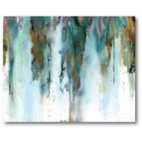 Courtside Market Skyline Abstract 20-Inch x 16-Inch Canvas Wall Art