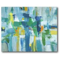 Courtside Market 20-Inch x 16-Inch Abstract I Canvas Wall Art