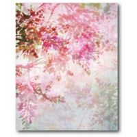 Courtside Market Pink Spring Balloons 16-Inch x 20-Inch Canvas Wall Art