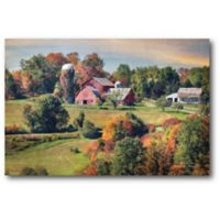 Courtside Market Country Farm 16-Inch x 20-Inch Canvas Wall Art