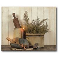 Courtside Market Country Cooking 20-Inch x 16-Inch Canvas Wall Art