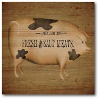 Courtside Market Fresh & Salted 16-Inch Square Canvas Wall Art