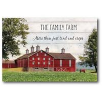 Courtside Market Family Farm 12-Inch x 18-Inch Canvas Wall Art