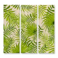 Benjamin Parker In the Tropics 3-Piece Wood Print Wall Art