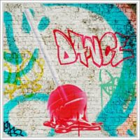 "PTM Images ""Dance"" 28-Inch x 28-Inch Canvas Wall Art"