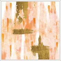 """PTM Images """"Brown Rainy"""" 28-Inch x 28-Inch Canvas Wall Art"""