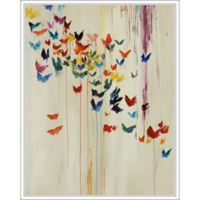 "PTM Images ""Colorful Butterflies"" 22-Inch x 28-Inch Canvas Wall Art"