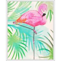 """PTM Images """"Flamingo"""" 22-Inch x 28-Inch Canvas Wall Art"""