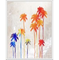 "PTM Images ""Color Palms"" 22-Inch x 28-Inch Canvas Wall Art"